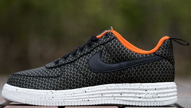 Nike Lunar Force 1 Low UNDFTD SP Black/Black-Medium Olive