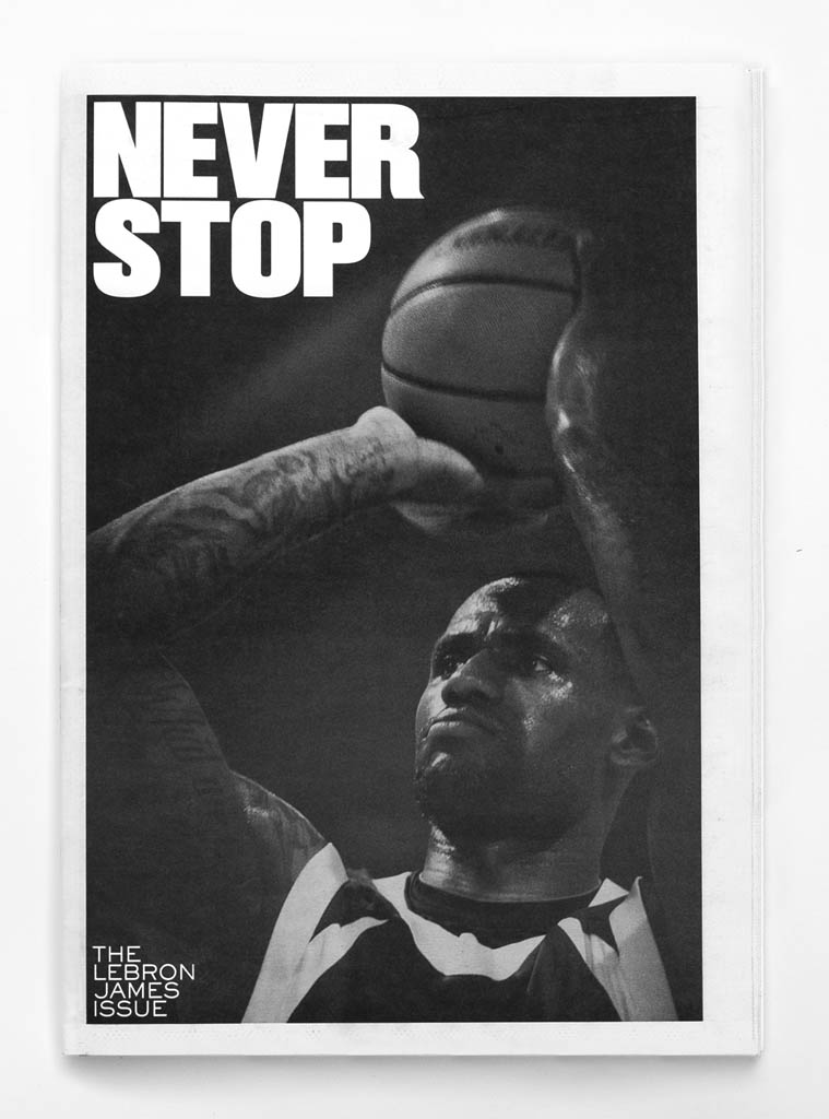 Nike Never Stop: The LeBron James Issue 1