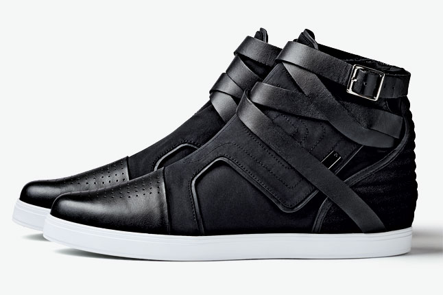 adidas SLVR Fashion Mid Strap Black (1)