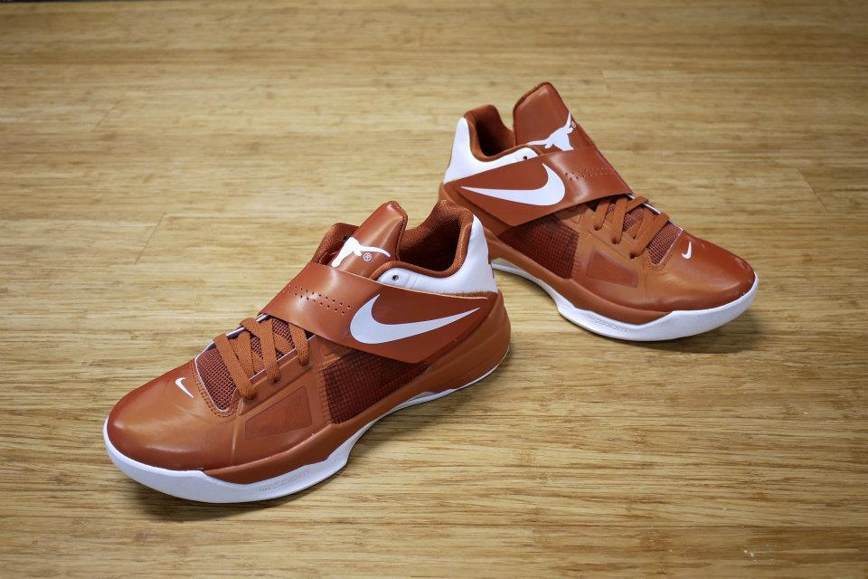 Nike Zoom KD IV 4 Texas Longhorns (1)