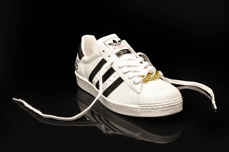 "adidas Originals Superstar 80s - Run DMC ""My adidas"" 25th Anniversary 6"
