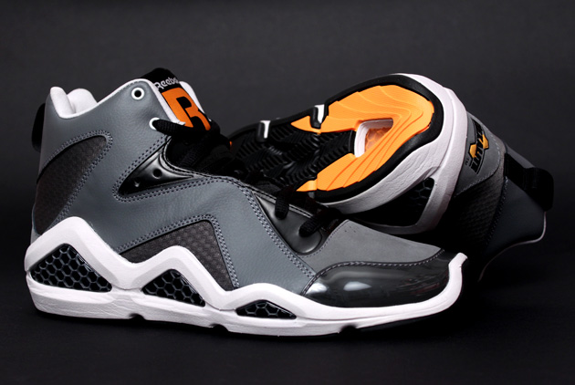 Reebok Kamikaze III - Black/Grey/Orange 2