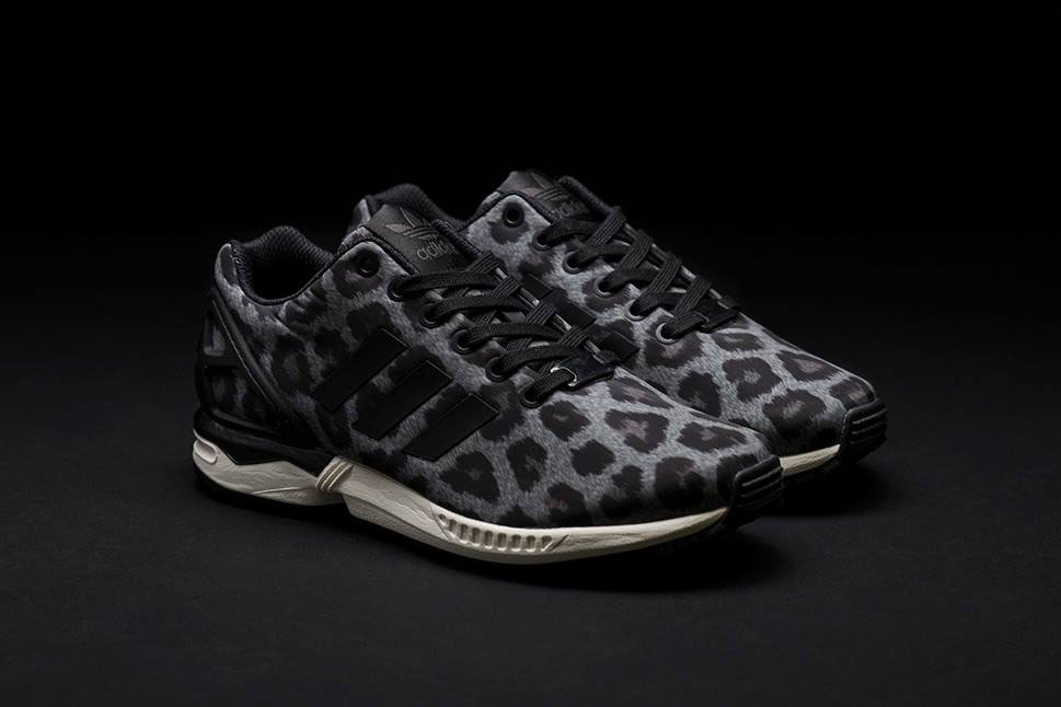 40eebd1a9f30 adidas Originals ZX Flux Pattern Pack Exclusive for Sneakersnstuff - Snow  Leopard (1)