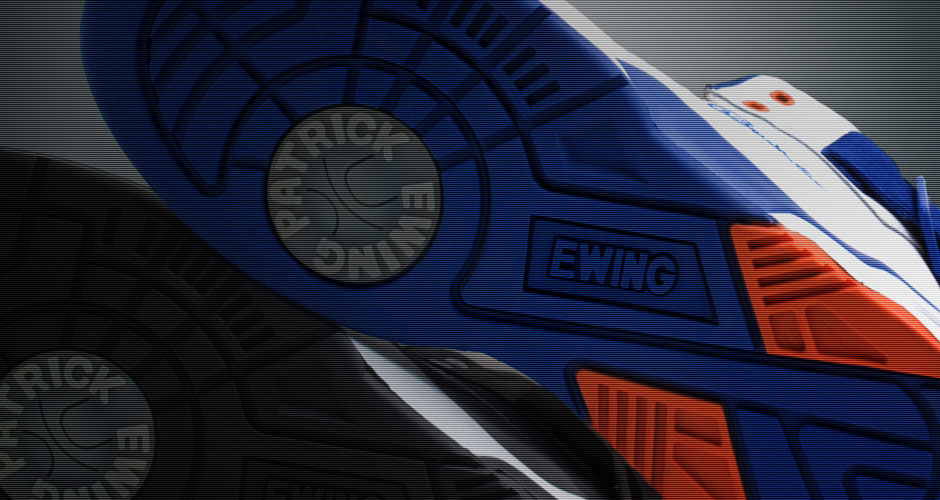 Ewing Athletics 33 Hi Retro Knicks White Sole