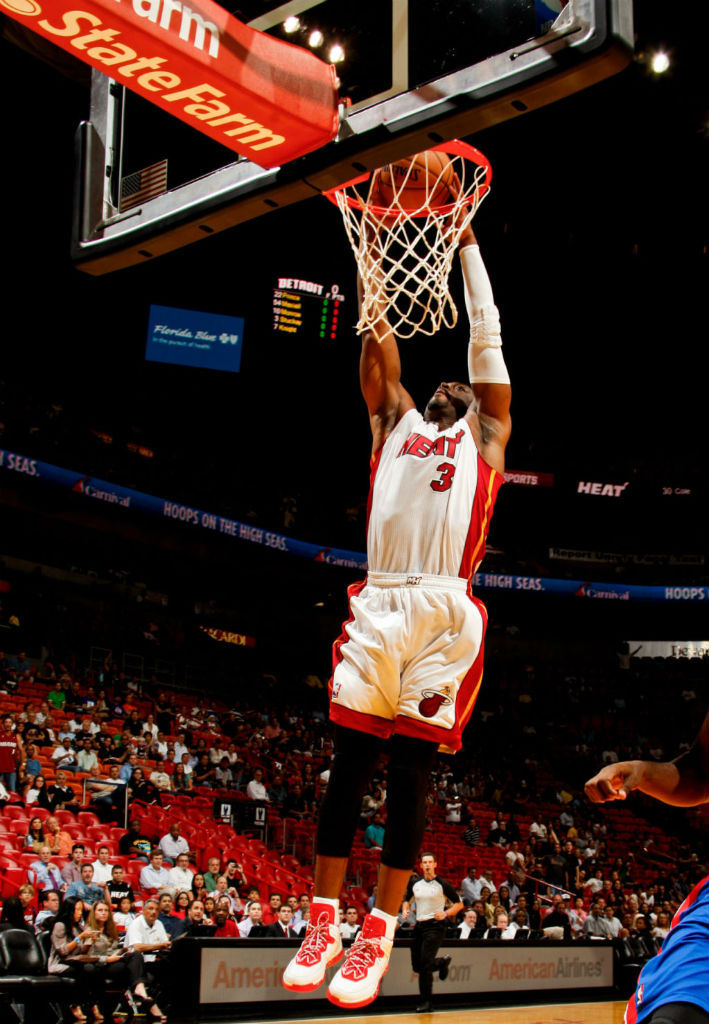 Dwyane Wade Wears Li-Ning Way of Wade White/Red (5)