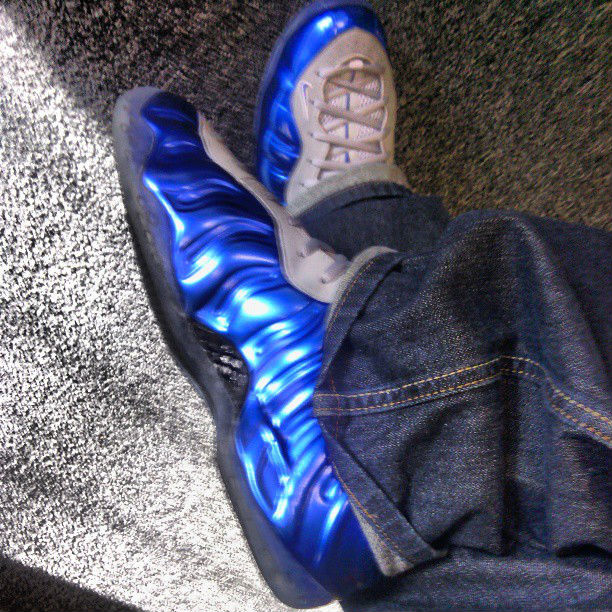 Spotlight // Forum Staff Weekly WDYWT? - 8.24.13 - Nike Air Foamposite One Candy Blue by goldenchild9389