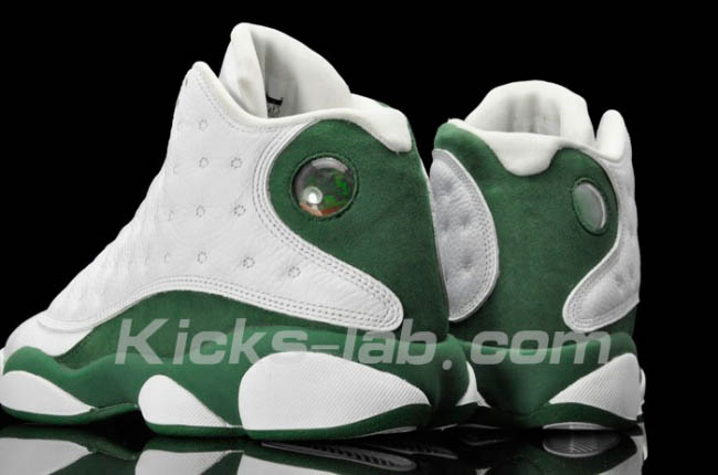 buy online 3cd73 ef7a4 Air Jordan Retro 13 XIII Ray Allen White Clover 414571-125