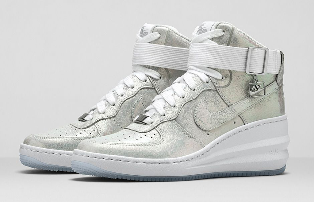 cd87bd4cfc3153 Nike Sportswear Women s Air Force 1  Iridescent Pearl  Collection ...