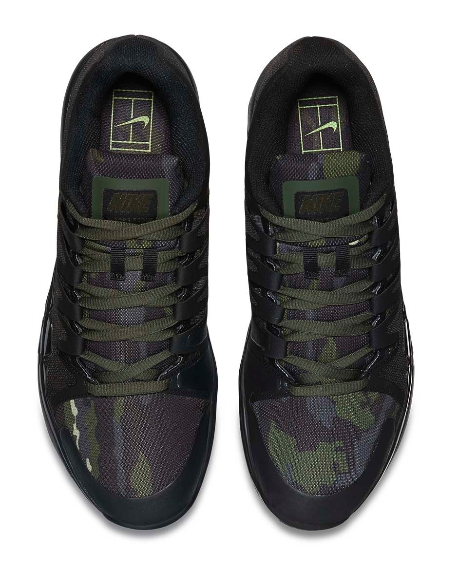 best loved b383f 396f8 Nike Uses Camo on These Tinker Hatfield Tennis Shoes