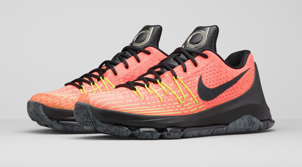 sports shoes 39f2f 33d77 The Sun Rises on This Nike KD 8 Colorway   Sole Collector