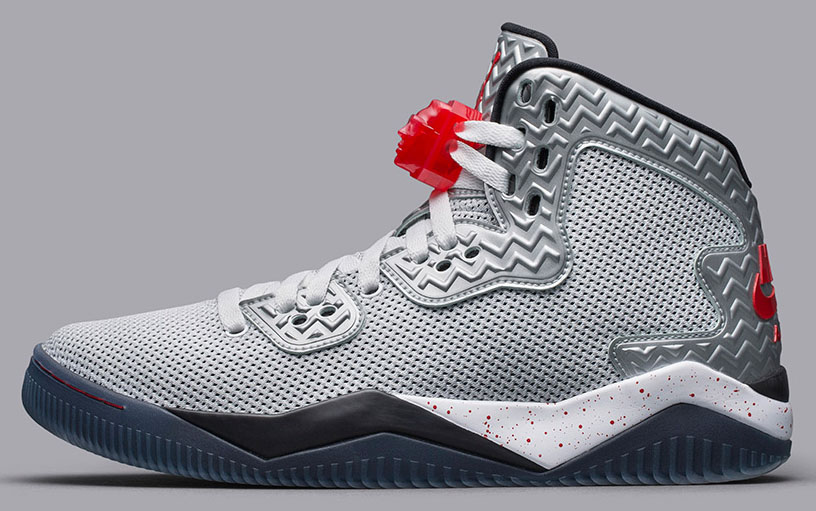 Air Jordan Spike 40 White/Fire Red-Black Release Date 807541-101