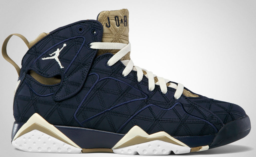 Best Nike Air Jordan 7 Cheap sale J2K Obsidian Natural Filbert W