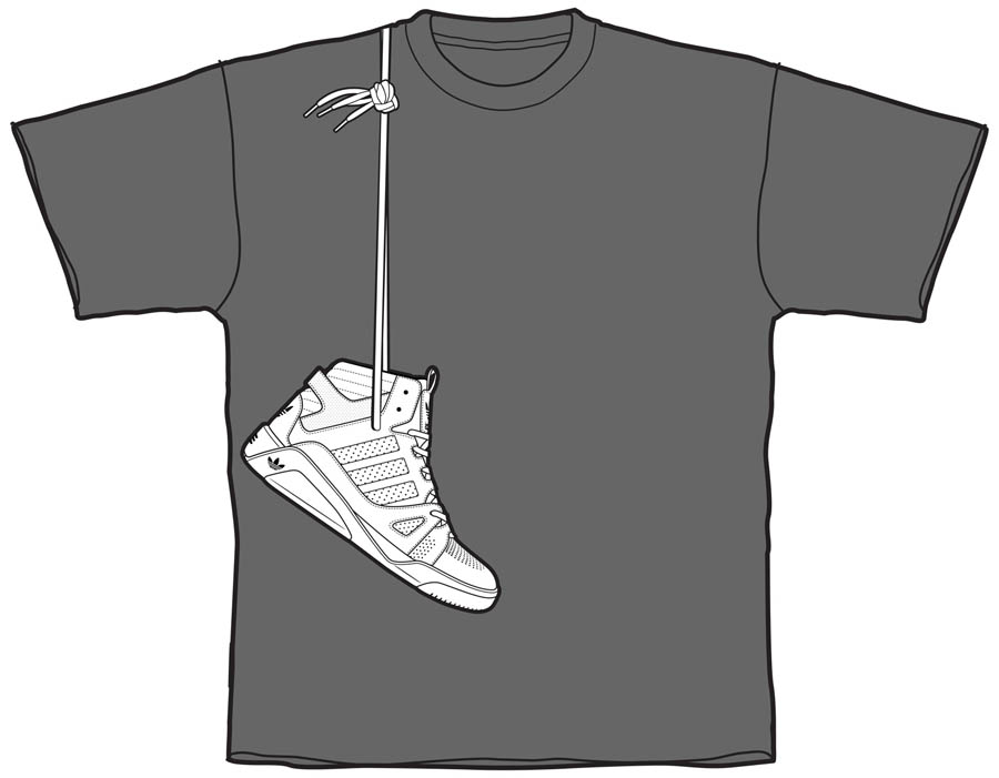 finest selection e3f91 b3fa7 adidas LQC x Sneaker Con T-Shirt
