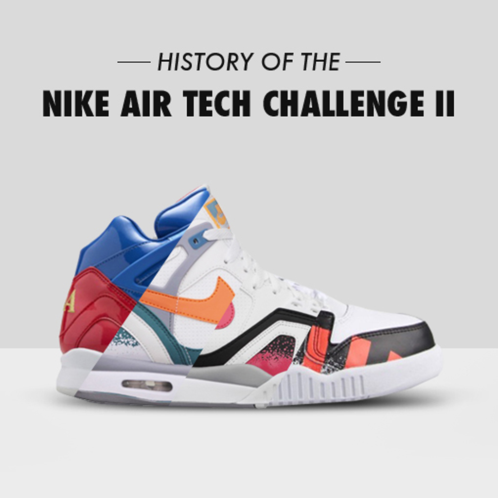 Today we take a look at the lineage of the Nike Air Tech Challenge II. 4833fbcc42
