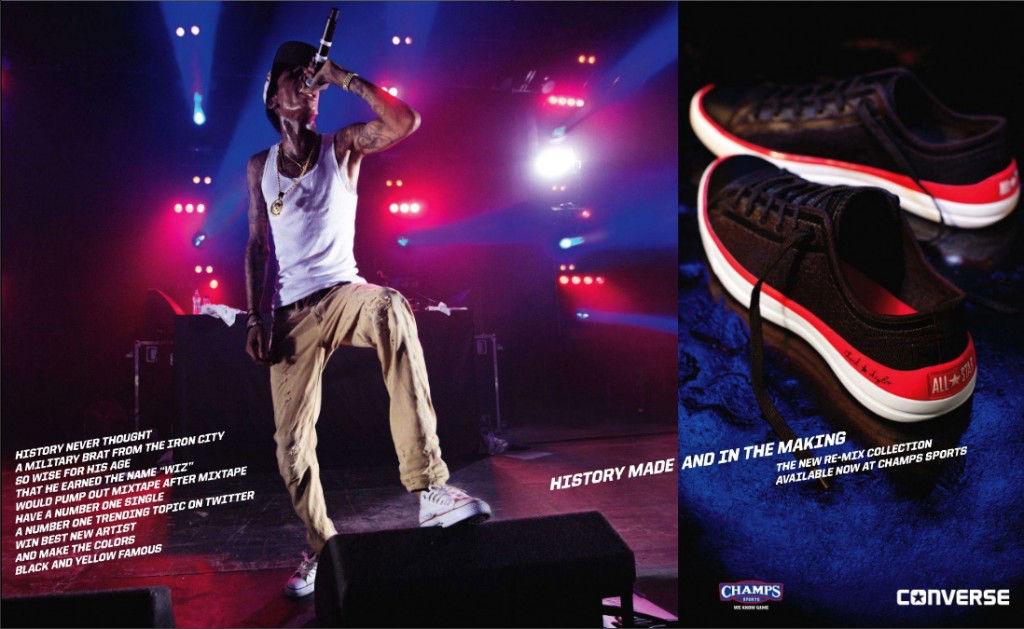 5ed31a3aa336d5 20 Photos Of Wiz Khalifa Wearing Converse Sneakers