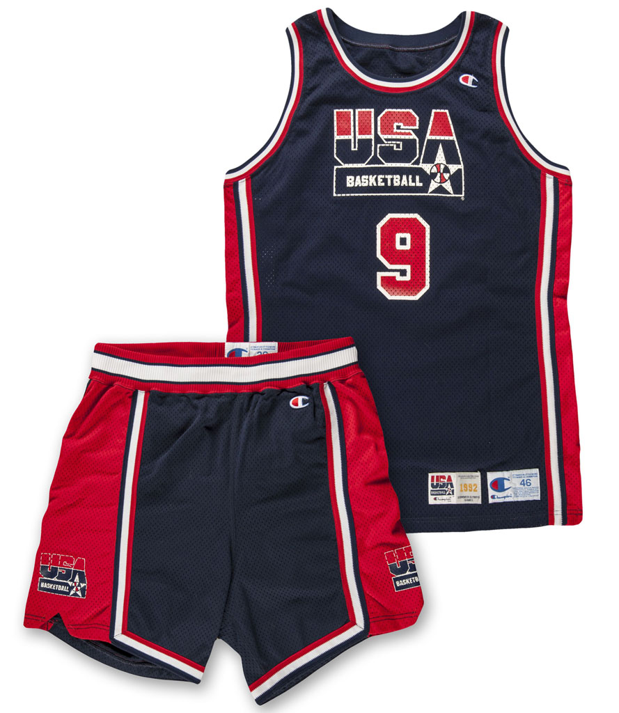 Michael Jordan Game-Worn Dream Team Uniform (1)