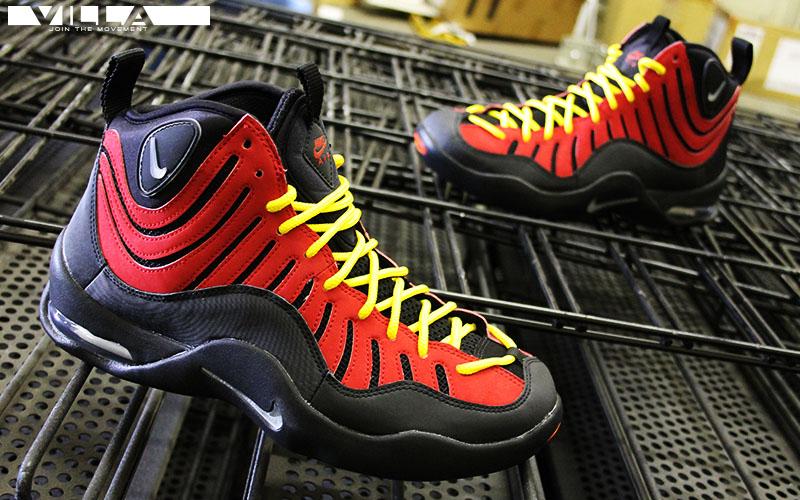 de27b08e5c00 Nike Air Bakin Black Metallic Silver-Varsity Red-Orange Blaze (5)