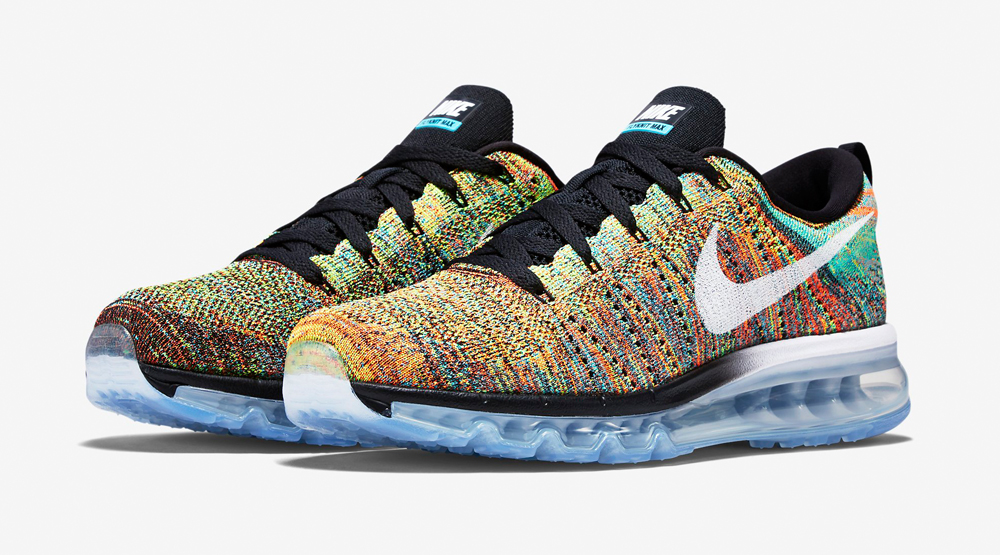 uk availability b5994 60d0f Nike Is Finally Releasing Multicolor Flyknit Air Maxes