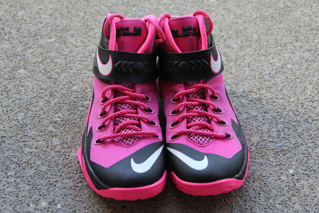 d4ce833eb9ee Release Date  Nike Zoom Soldier VIII  Think Pink . In honor of Breast  Cancer Awareness ...