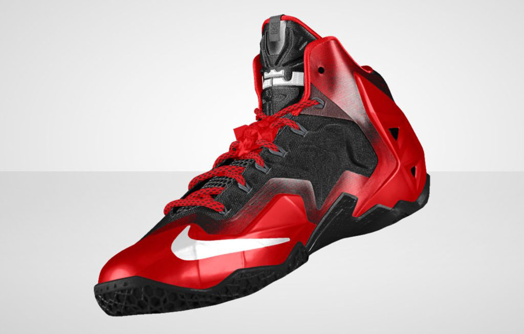 NIKEiD LeBron 11 'Forging Iron' Option (3)