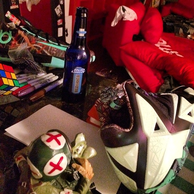 Trinidad James Picks Up Nike LeBron 11 & KD 6 All-Star