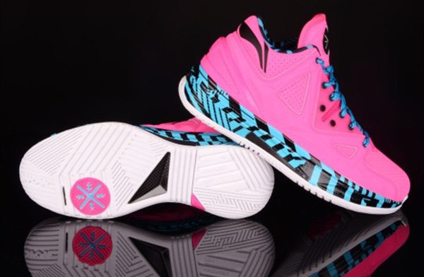 Li-Ning Way of Wade 2 Encore Flamingo (2)