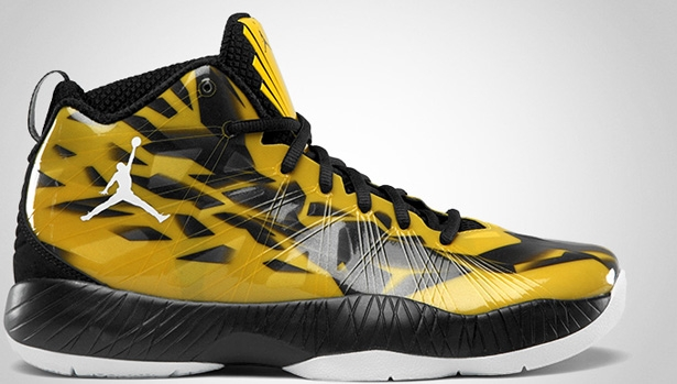 Air Jordan 2012 Lite Speed Yellow/White-Black