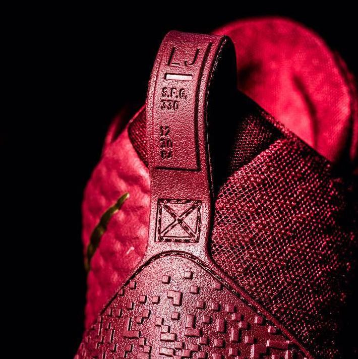 7f977c6416fc Image via  sneakerprophet  on Instagram · Nike LeBron Ambassador 9 Heel