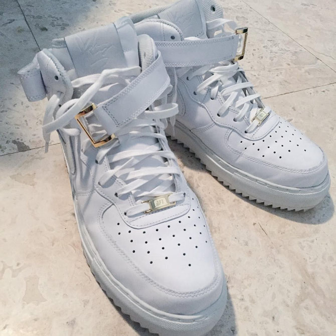 John Geiger Nike Air Force 1 Mid Lux Preview | Complex