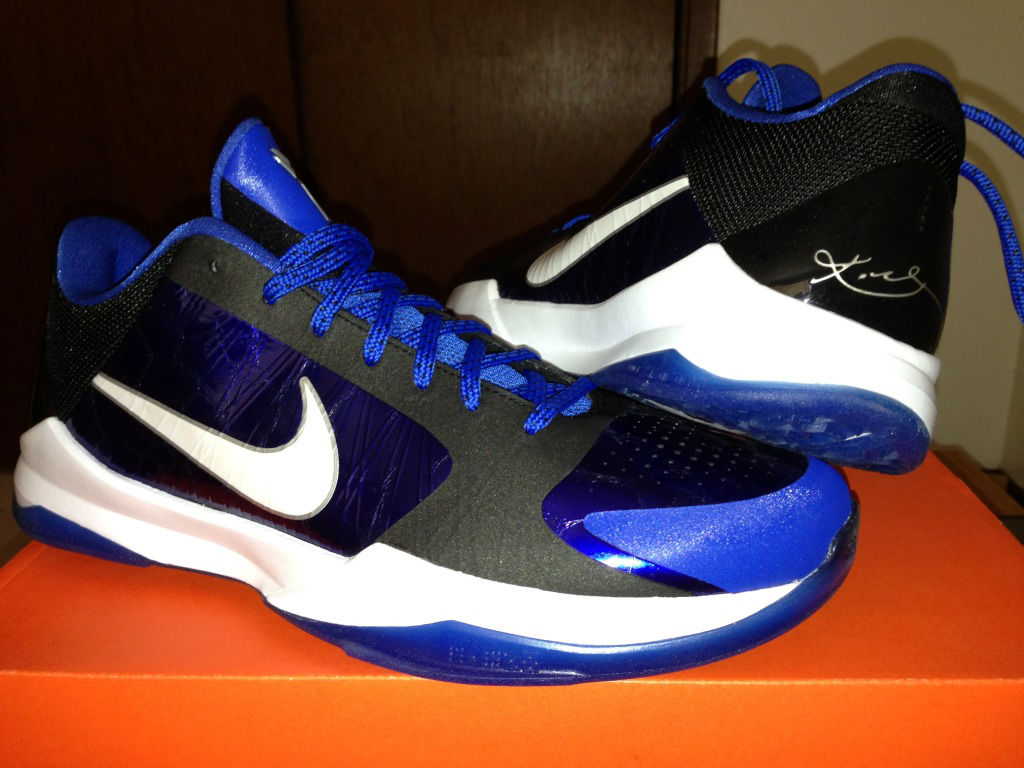 Spotlight // Pickups of the Week 7.14.13 - Nike Zoom Kobe V Duke by ARC360