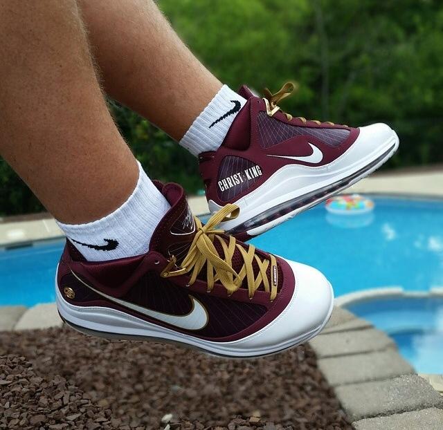 size 40 ce5de 4c9cd Nike LeBron 7  Christ The King