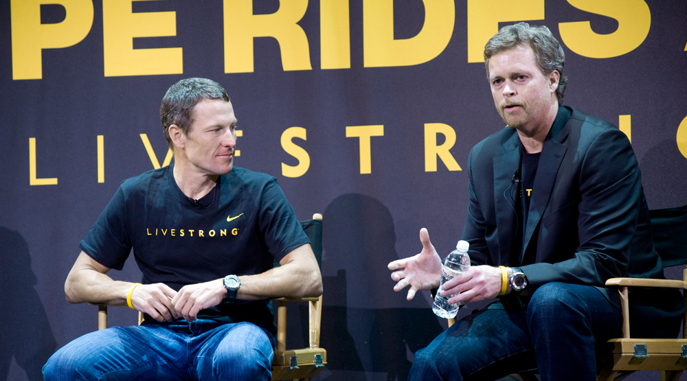 Nike Lance Armstrong Mark Parker