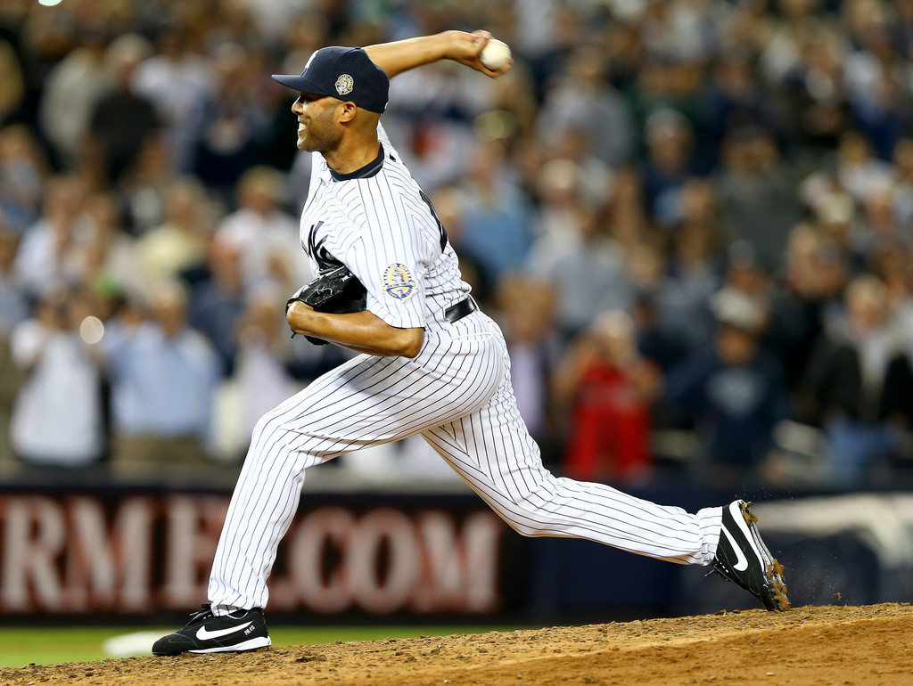 MLB Watch Mariano Rivera Nike Cooperstown final game
