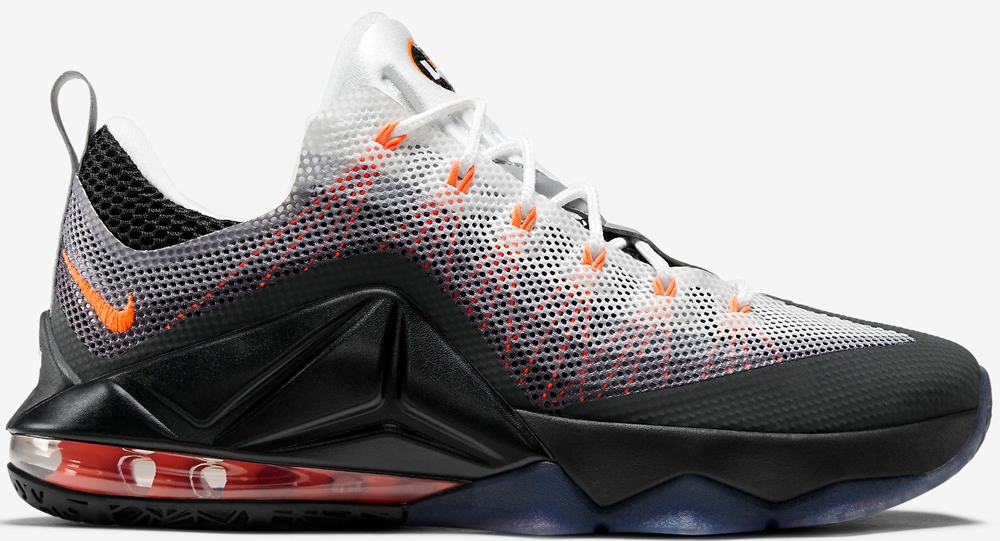 Nike Air Max 95 LeBron 12 Low Black/Total Orange