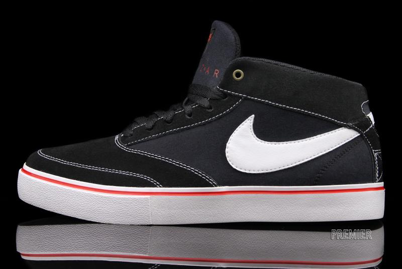 The black/white Nike SB Omar Salazar is available now at Nike SB accounts,  including Premier.