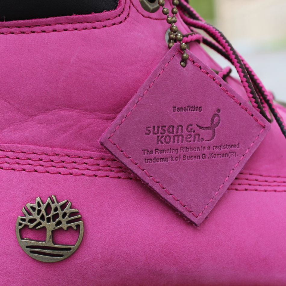 Susan G. Komen x Timberland Breast Cancer Awareness Pink Boot (6)