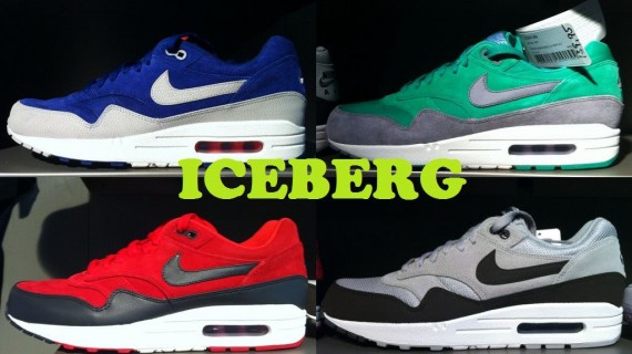 competitive price 0a92d edd8d We continue our preview of Nike Sportswear s holiday 2012 releases with a  look at yet another squad of Air Max 1 Premium colorways.