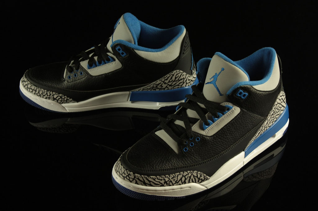 f305bda0828 New Images of The 'Sport Blue' Air Jordan 3 Retro | Sole Collector