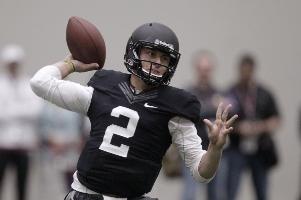 Johnny Football Wears Nike for NFL Pro Day (5)