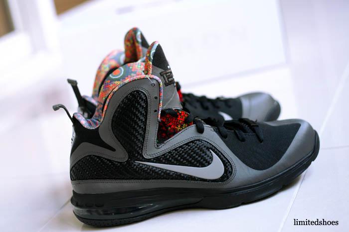 new product 09fef 207b1 Nike LeBron 9 BHM Black History Month Midnight Fog 530962-001 (7)