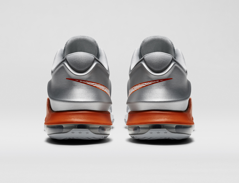 62073904545f The Nike KD 7 in Texas Longhorns Colors