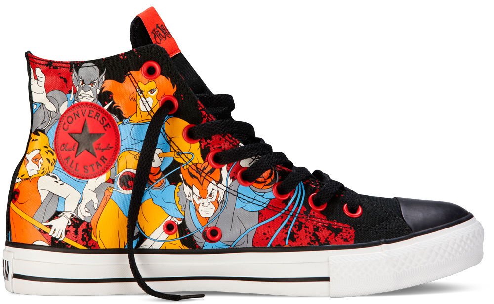 Brandon Richard's Top Ten Shoes Sneakers of 2012 - Converse Chuck Taylor All Star ThunderCats