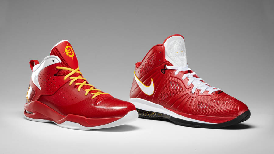 buy popular c2cad 08089 Jordan Fly Wade   Nike LeBron 8 PS - NBA Finals