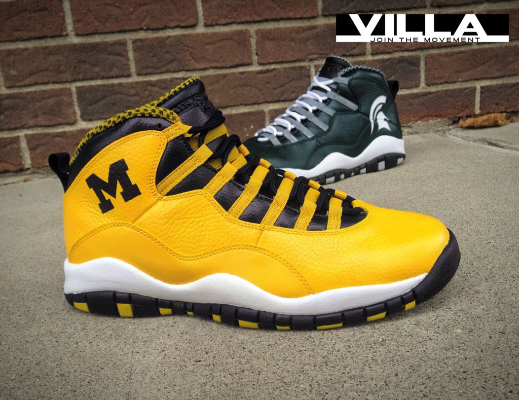 Air Jordan 10 X 'A State Divided' for VILLA by Mache Custom Kicks (4)