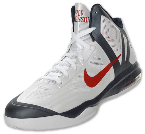 new york 10b84 03cb3 ... Shoe Nike Air Max Hyperaggressor USA White Obsidian University Red  524851-100 (2) ...