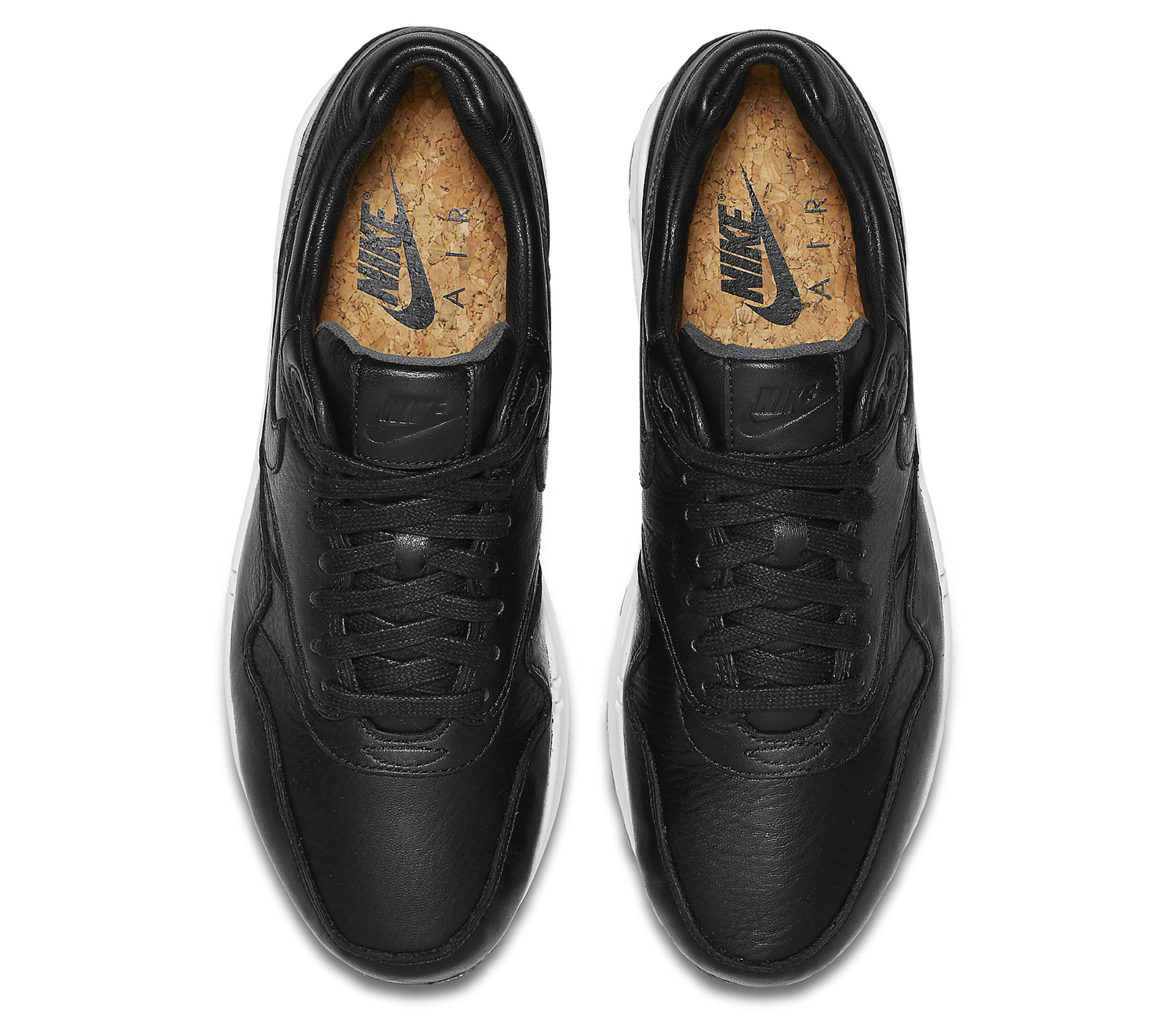brand new b81c3 43ec4 Nike Air Max 1 Pinnacle Black White Leather Reflective | Sole Collector