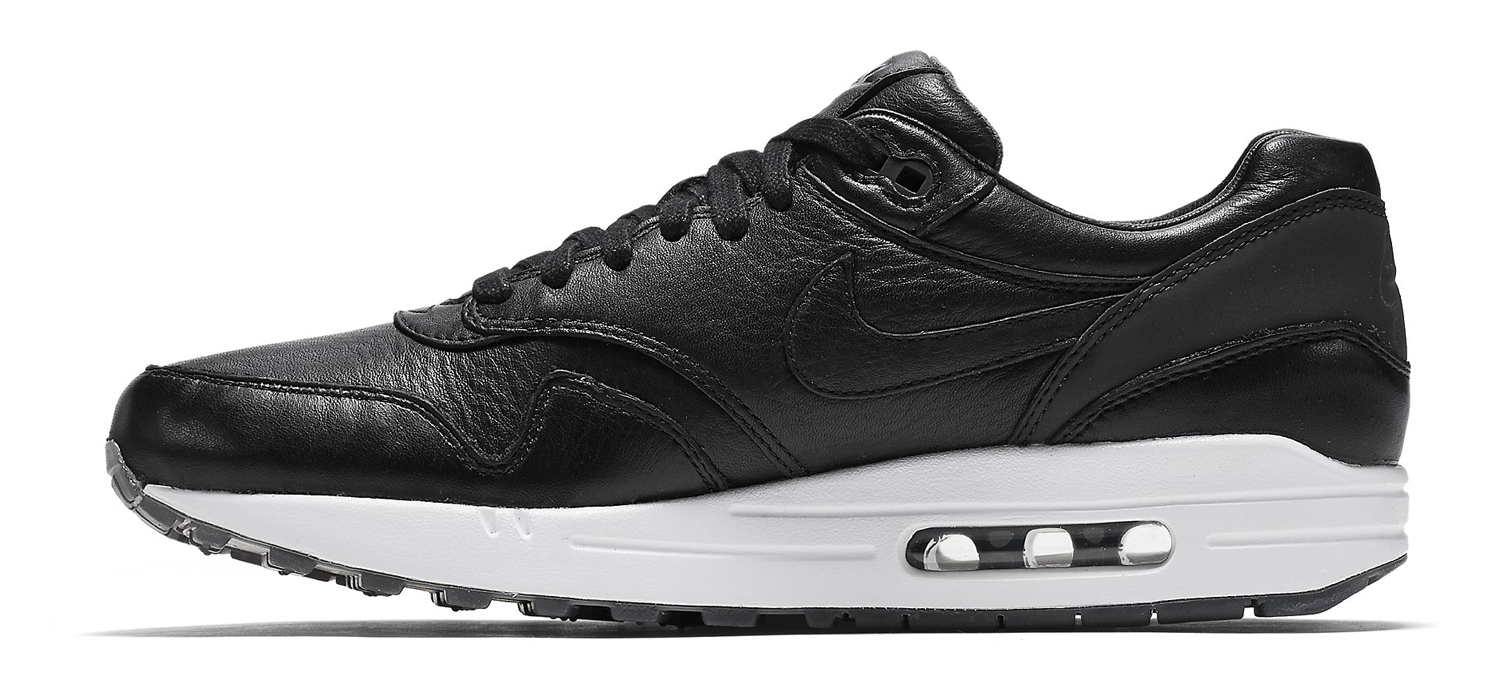 wholesale dealer 3c599 8aedf Nike Air Max 1 Pinnacle Black Medial