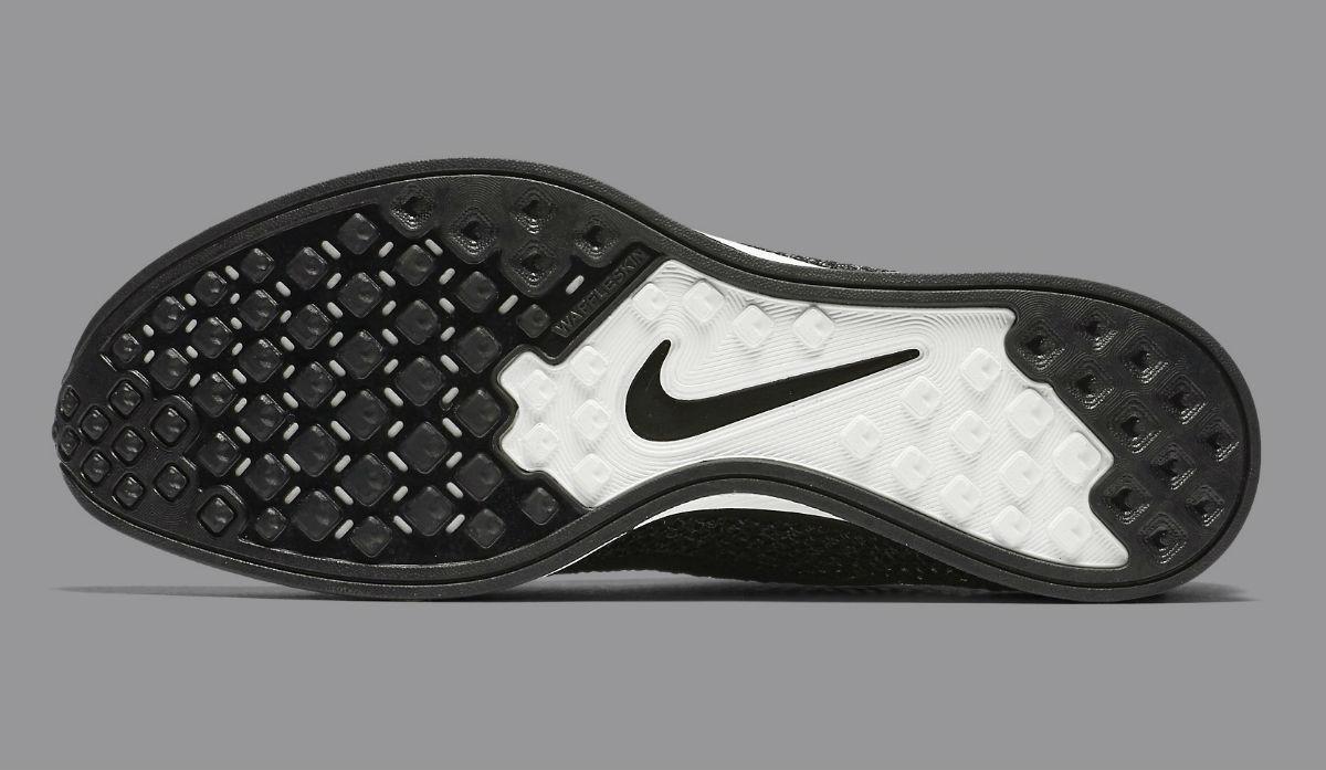 Nike Flyknit Racer Black Knit by Night Sole 526628-005