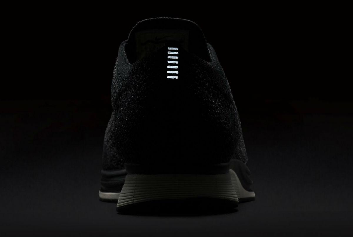 Nike Flyknit Racer Black Knit by Night 3M 526628-005