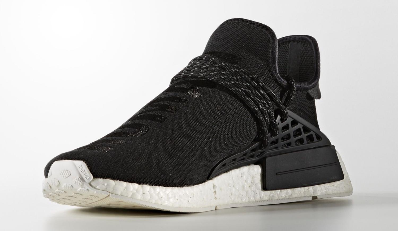 Black Pharrell Adidas NMD BB3068 Front